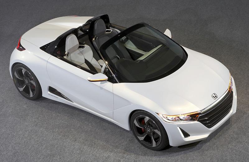 Honda S660 Concept - очаровательная машинка для двоих