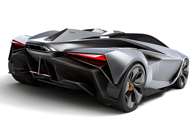 Lamborghini Perdigon Concept - новое слово в концепции гиперкаров