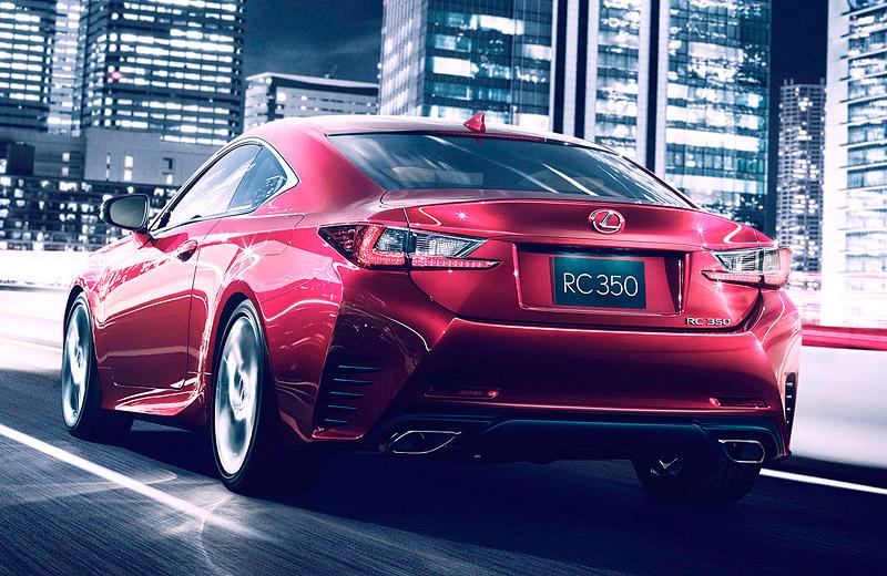 Lexus RC Coupe - Двухдверный Lexus IS