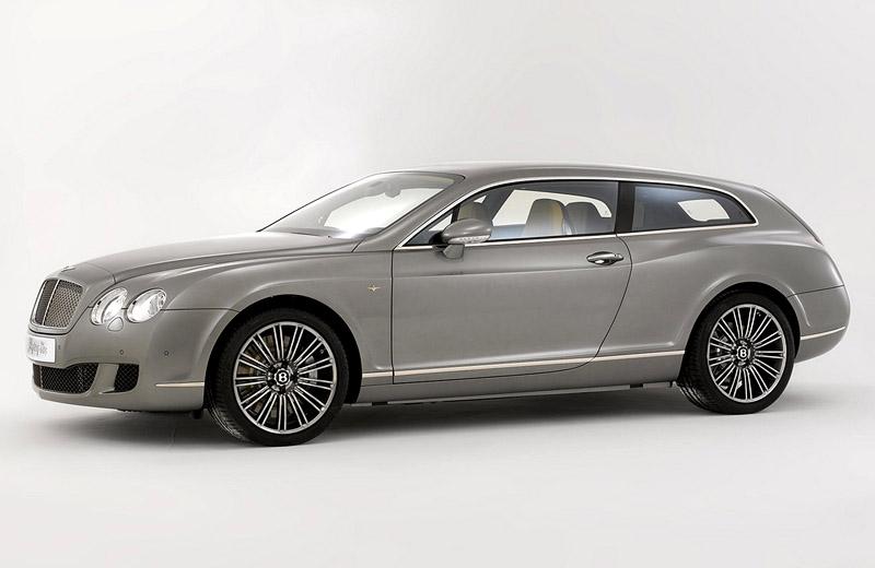 Bentley Continental GTC Flying Star Touring - Семейный хэтчбек для олигархов