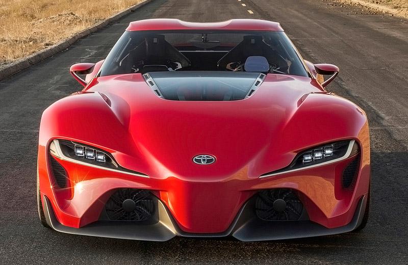 Toyota FT-1 Concept 2014 — Supra возвращается?