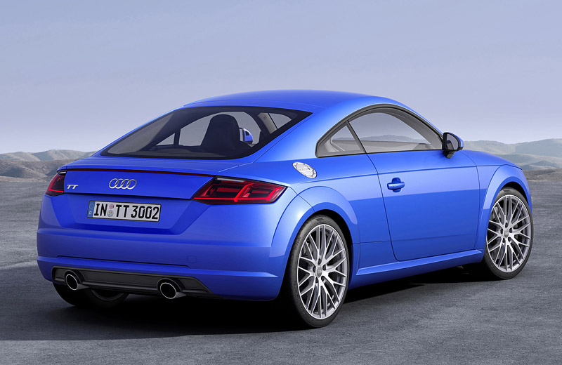 Audi TT и TTS - новое поколение компактного спорт-купе