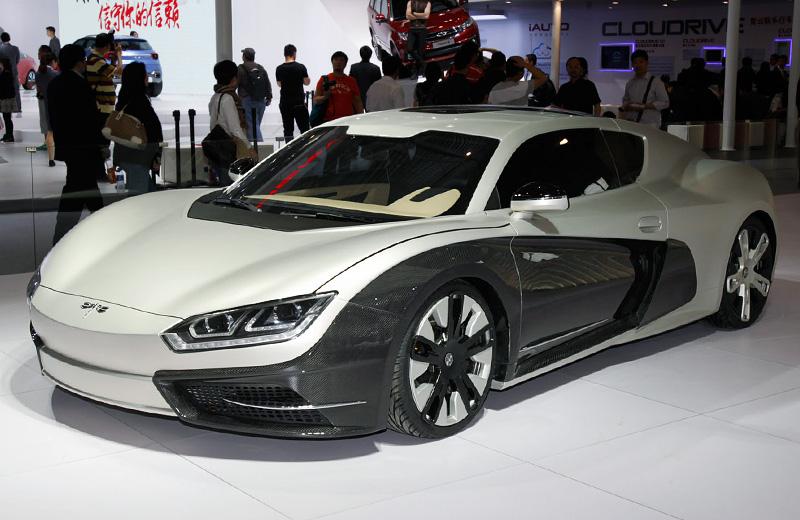 CH Auto Event concept - китайский ответ Tesla Roadster