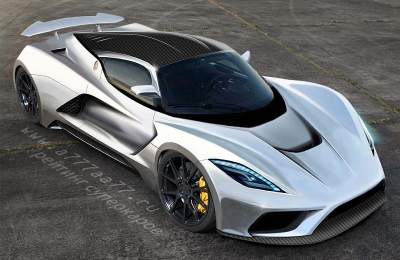 Hennessey Venom F5 - очередная попытка побить рекорд скорости из Америки
