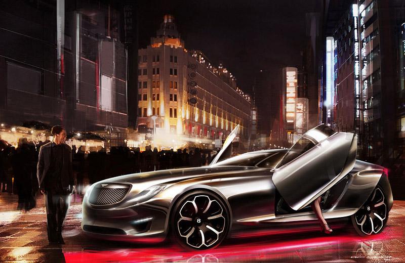 Bentley 2030 GT Concept - грозный пижон в классе Gran Turismo