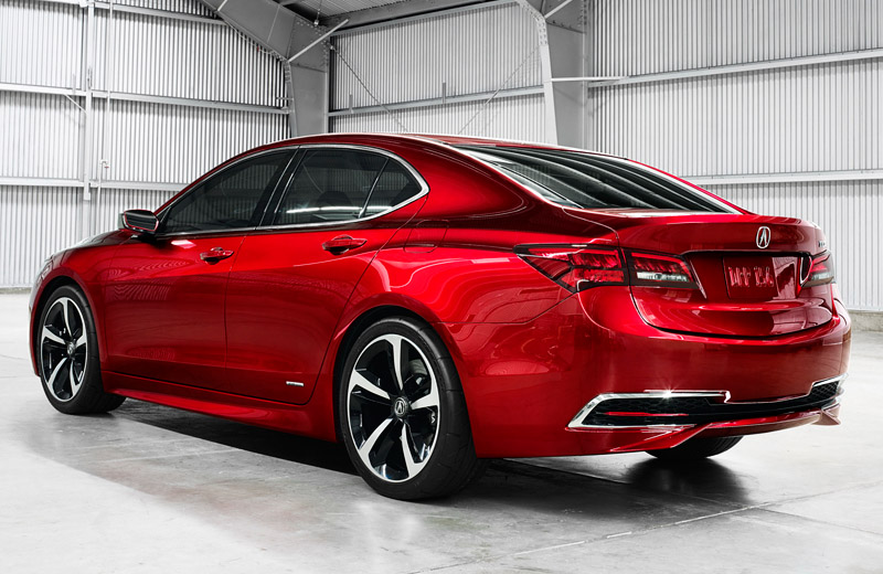 Acura TLX - Отличная замена для TL и TSX