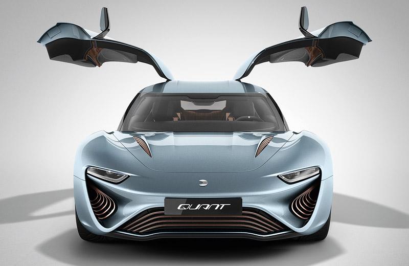 Quant e-Sportlimousine от компании nanoFLOWCELL - будущее мирового автопрома