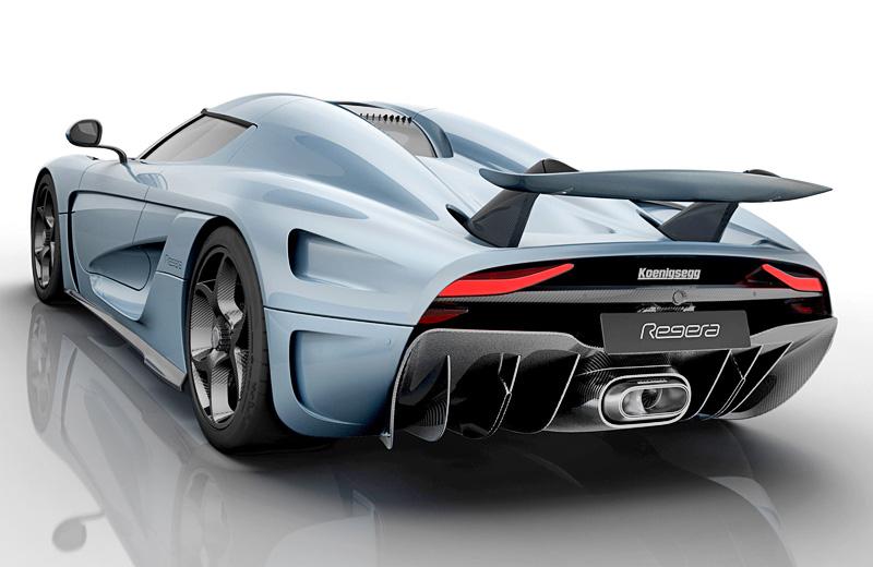 Koenigsegg Regera - полуторатысячный шведский табун