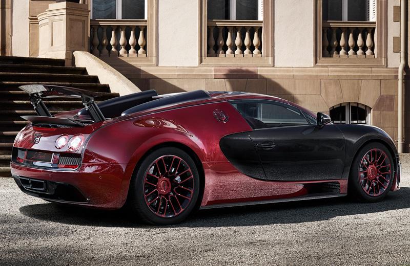 Bugatti Veyron Grand Sport Vitesse La Finale - последний из легендарной линейки Veyron