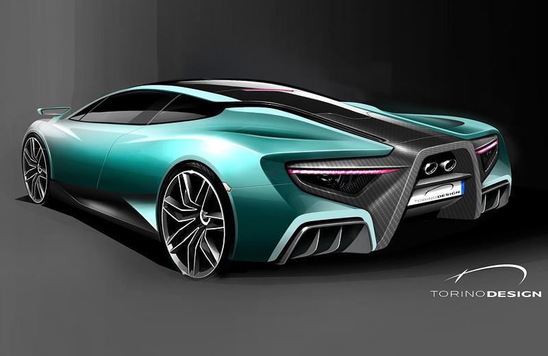 ATS Wild Twelve Concept – дикий итальянский Bugatti EB110 от Torino Design