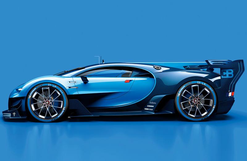 Bugatti Vision Gran Turismo – футуристичная дань традициям GT6