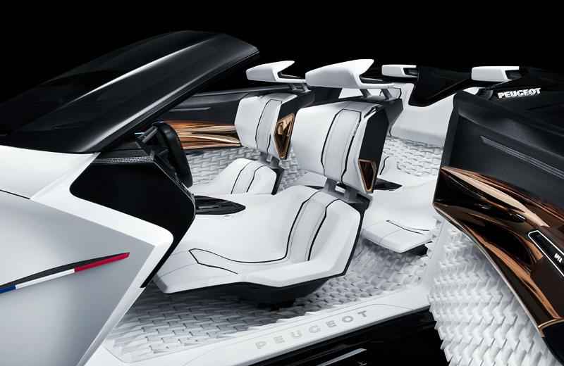 Peugeot Fractal Concept – быстрый и «зелёный» родстер