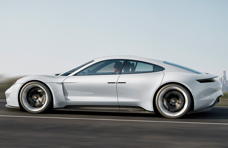 Porsche Mission E Concept – это как Tesla, только Porsche