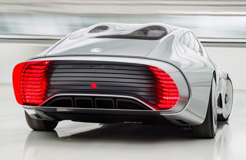 Mercedes-Benz IAA Concept – наиболее вероятный автомобиль будущего