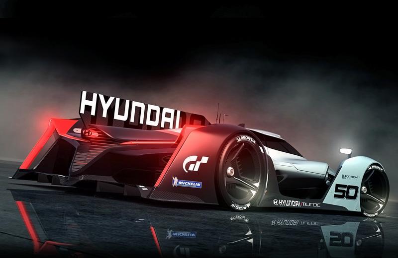 Hyundai N 2025 Vision Gran Turismo – водородное будущее автоспорта
