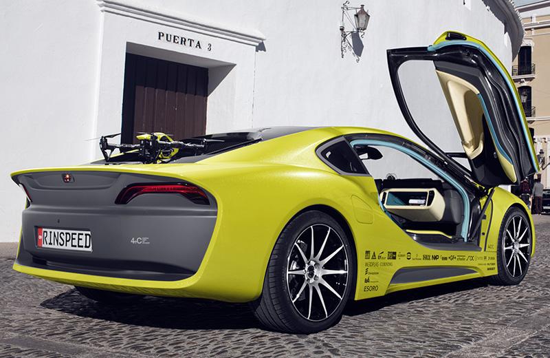 Rinspeed Σtos – первый смартмобиль из Швейцарии