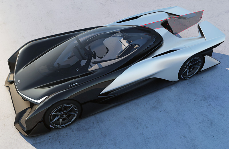 Faraday Future FFZero1 Concept – модульное будущее автопрома
