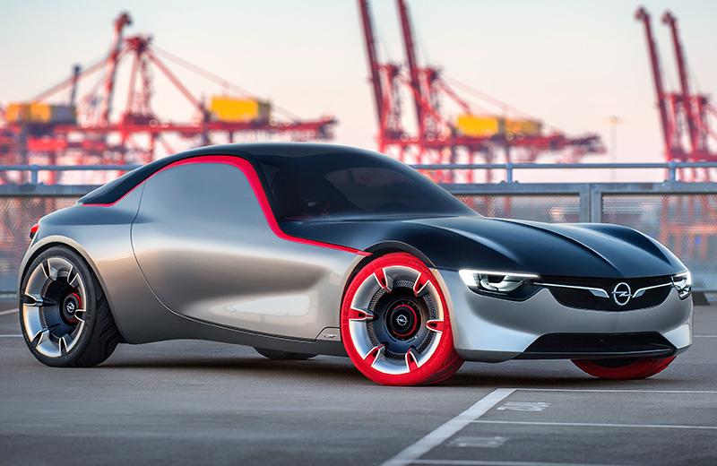 Opel GT Concept – литровое купе