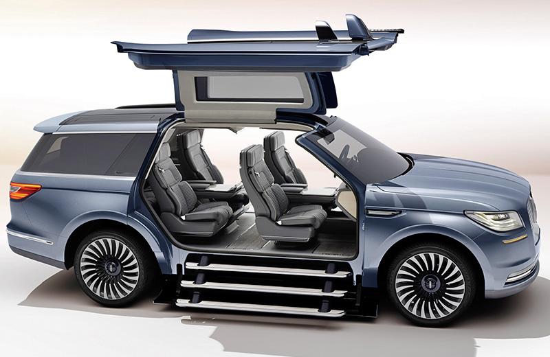 Lincoln Navigator Concept – очень большая чайка