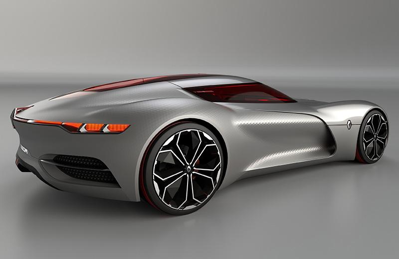 Renault Trezor Concept - электрический злодей