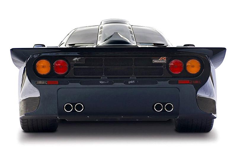 McLaren F1 GT - вершина эволюции британской легенды