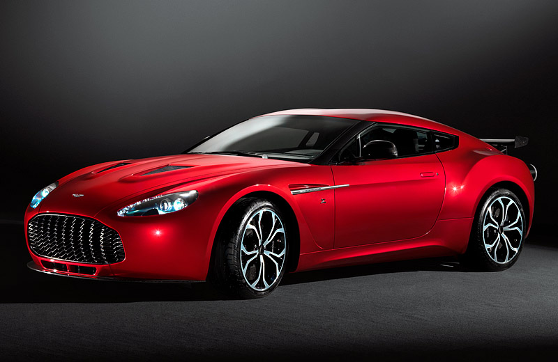 Aston Martin Zagato - очередной британский V12