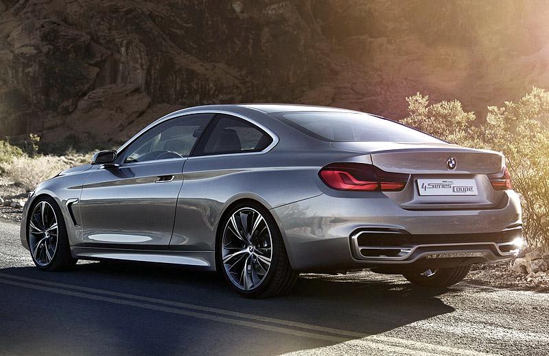 BMW 4 Series Coupe Concept - купе в новом классе