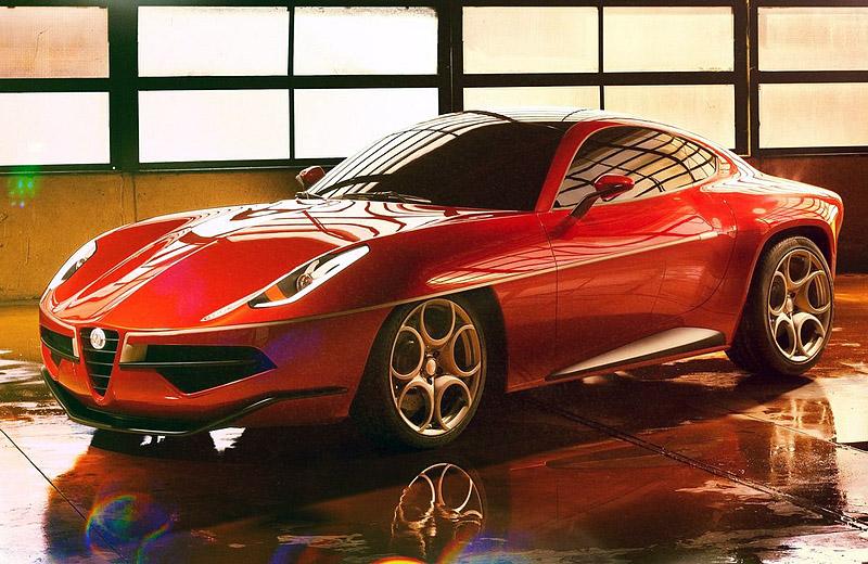 Alfa Romeo Disco Volante 2012 - Марсианские хроники