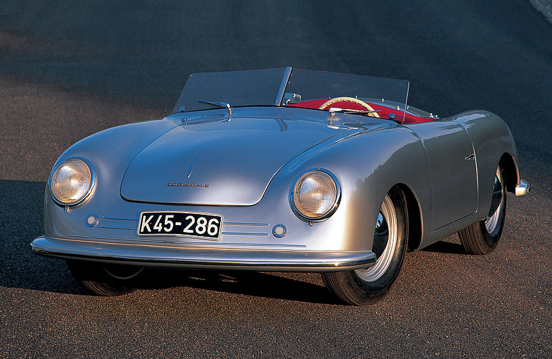 Porsche 356 Roadster №1: корень родословного древа