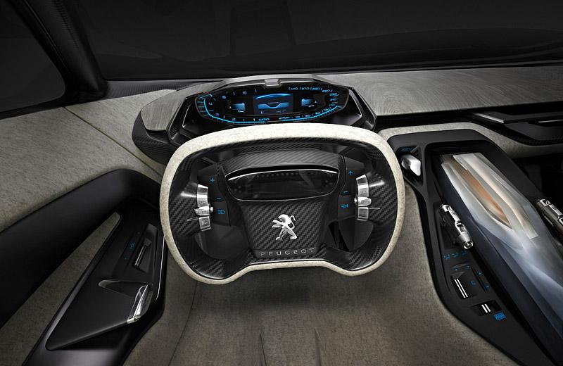 Peugeot Onyx Concept - экстравагантный шоу-кар