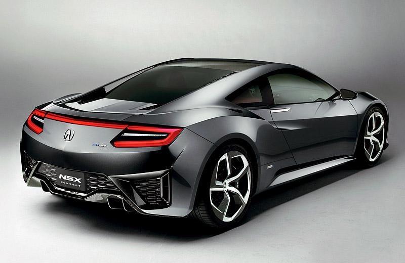 Acura NSX Concept - возрождение японской легенды