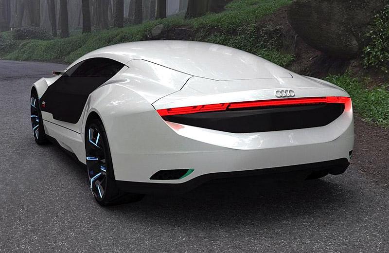 Audi A9 Concept - дизайн плюс нанотехнологии