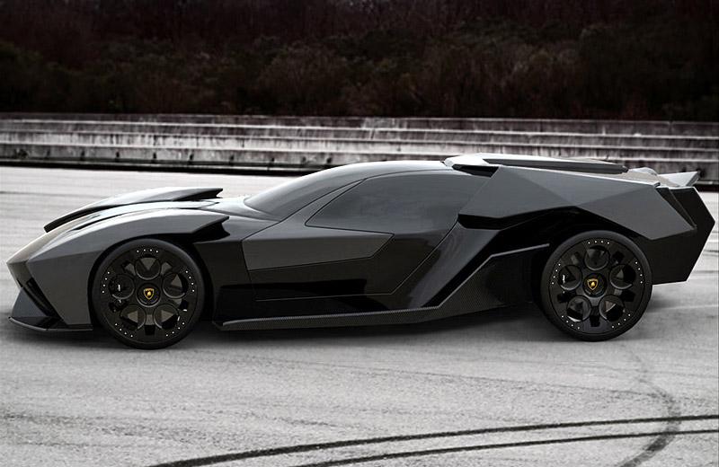 Lamborghini Ankonian Concept - перехватчик для Бэтмана