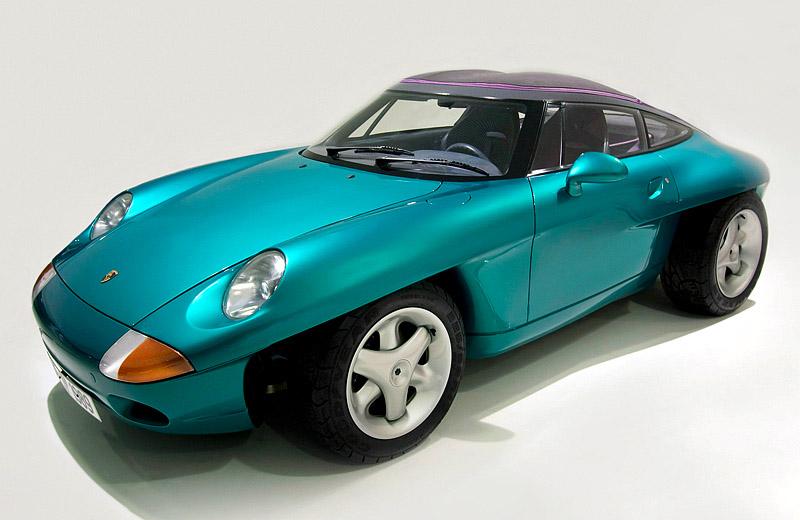 Porsche Panamericana: яркий, как... Porsche