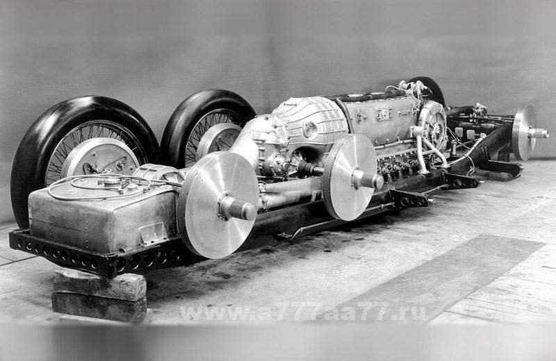 Mercedes-Benz T80: Верх инженерной мысли на конец 30-х годов