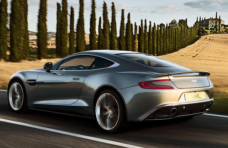 Новая генерация Aston Martin Vanquish