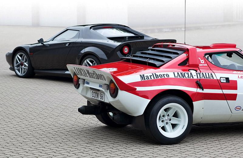 2010 Lancia New Stratos: возрождение итальянской раллийной легенды