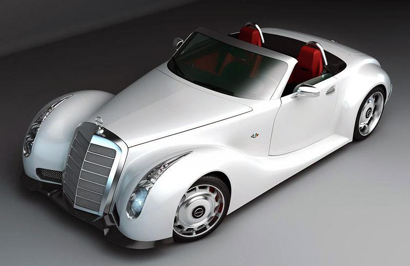 Mercedes-Benz GWA 300 SLC - оживление лучшего родстера всех времён
