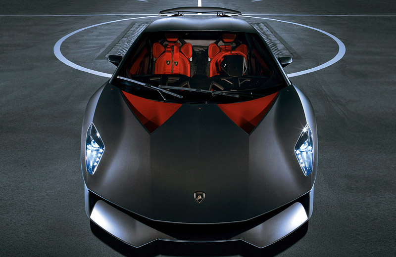 Lamborghini Sesto Elemento - карбоновый спидфайтер