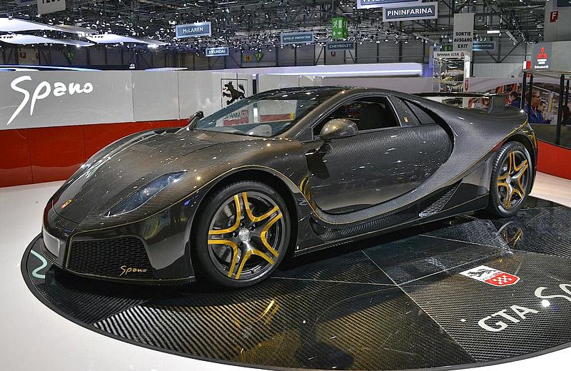 2013 GTA Spano: новый испанский суперкар