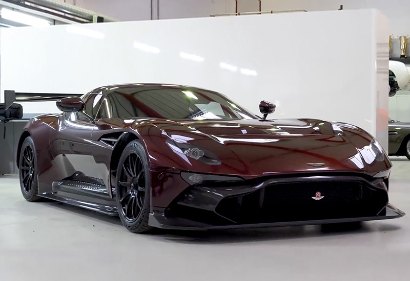 2017 Aston Martin Vulcan Street-legal (by RML)