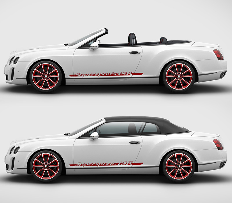 2011 Bentley Continental Supersports Convertible ISR