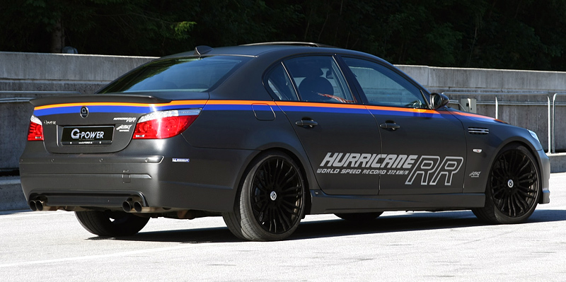 2010 BMW M5 G-Power Hurricane RR