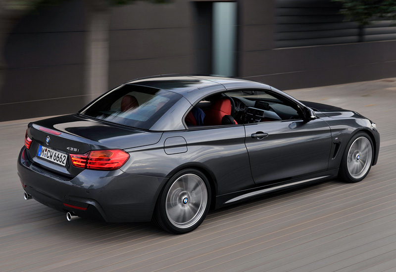 2013 BMW 435i Cabrio M Sport Package (F33)