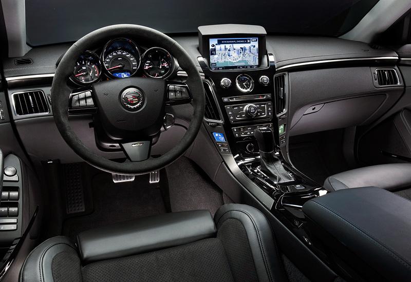 2011 Cadillac CTS-V Coupe - характеристики, фото, цена.