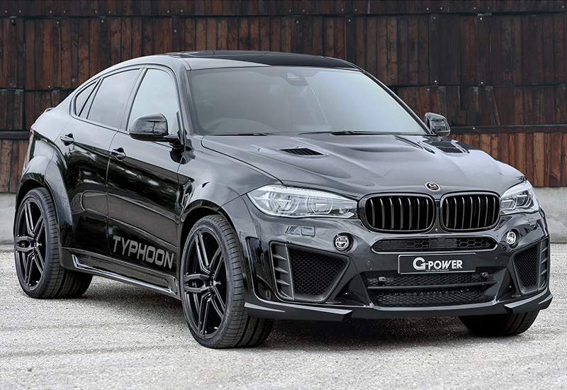2016 BMW X6 M G-Power Typhoon