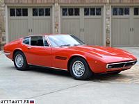 1970 Maserati Ghibli SS = 285 км/ч. 335 л.с. 6 сек.
