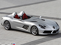 2009 Mercedes-Benz SLR McLaren Stirling Moss = 350 км/ч. 650 л.с. 3.5 сек.