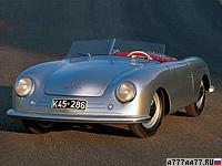 1948 Porsche 356 Nr.1 Roadster = 140 км/ч. 40 л.с. 16 сек.