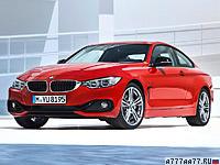 2013 BMW 435i Coupe (F32) = 250 км/ч. 306 л.с. 5.1 сек.